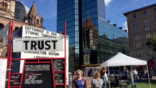 Public Trust: Just Say It to Me Straight