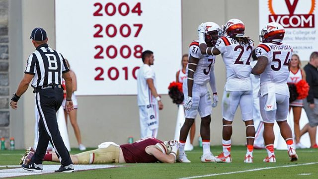 Eagles Suffer Worst Loss Under Steve Addazio in Virginia Tech Blowout