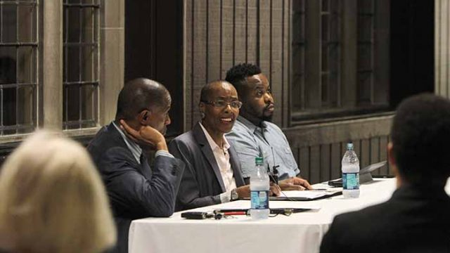 Visiting Professors Discuss Racism, Need for Christian Ethics