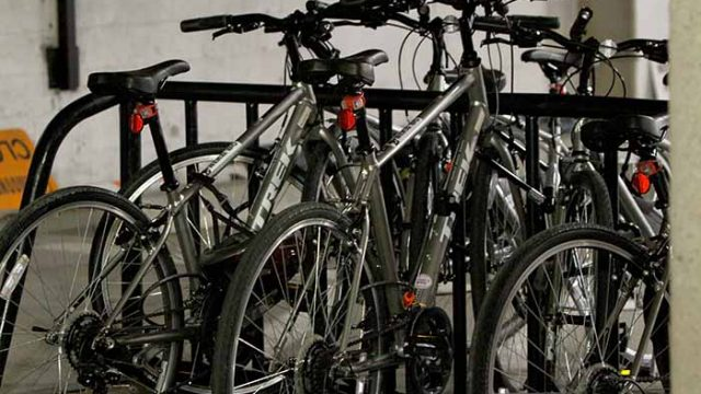 Wheels Up: Students Can Now Borrow Bikes Through O'Neill Library