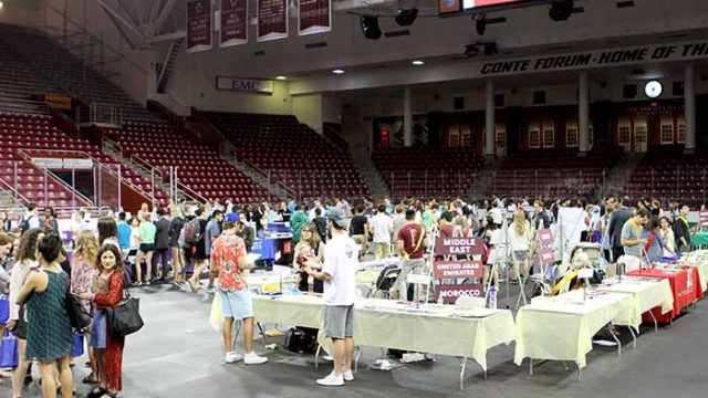Study Abroad Fair Showcases an Evolving Office of International Programs