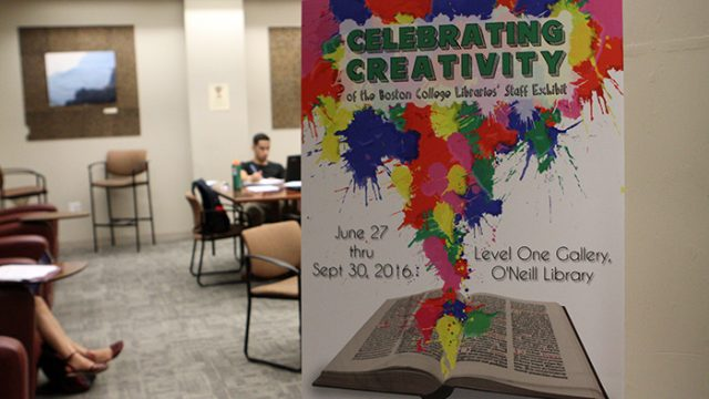 Library Staff Exhibit Fosters Creativity, Knowledge Outside the Shelves