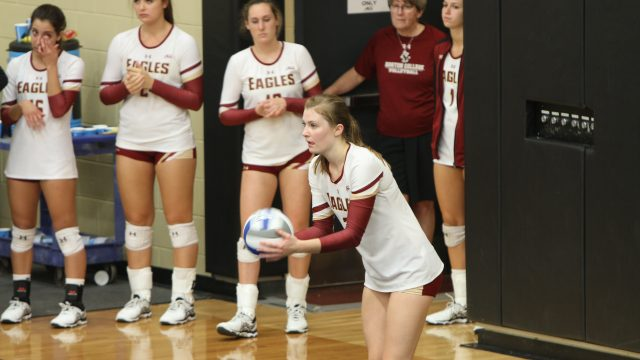 Volleyball Battles Back to Sweep Boston College Tournament