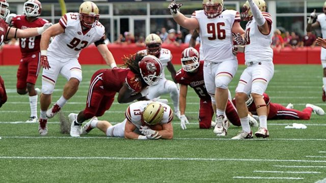 Massachusetts Offense Goes Nowhere Against Strachan, BC Front Seven