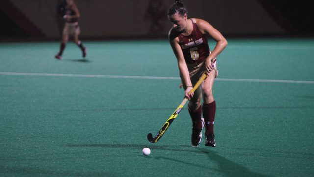 Field Hockey Blows Out No. 16 Harvard