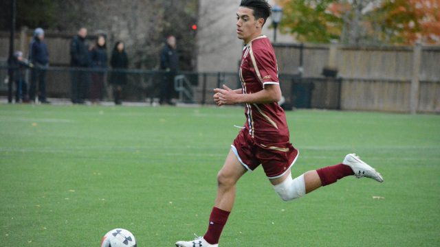 Men's Soccer Squanders Late Lead Against Lowell