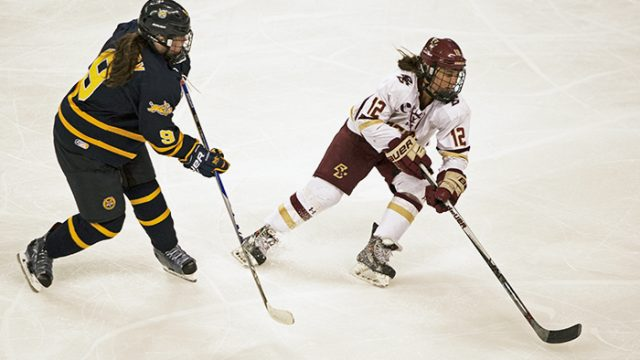 Lonergan Leads Eagles to Convincing Win Over Quinnipiac