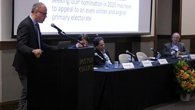 Clough Center Hosts Panel of Professors to Examine the Election