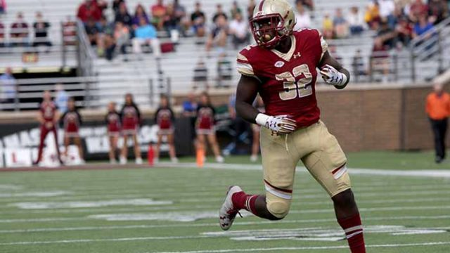 Football's Jonathan Hilliman to Transfer to Rutgers