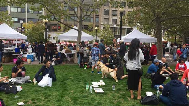 In Copley Square on Saturday, a Taste of Indonesia
