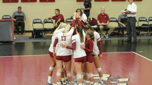 Volleyball Falls Twice at Home to Louisville, Notre Dame