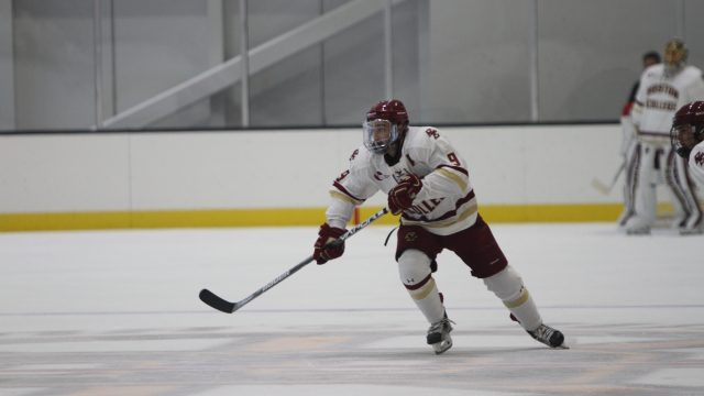 Men's Hockey Defeats No. 3 Denver, But Falls to Air Force in IceBreaker Tournament