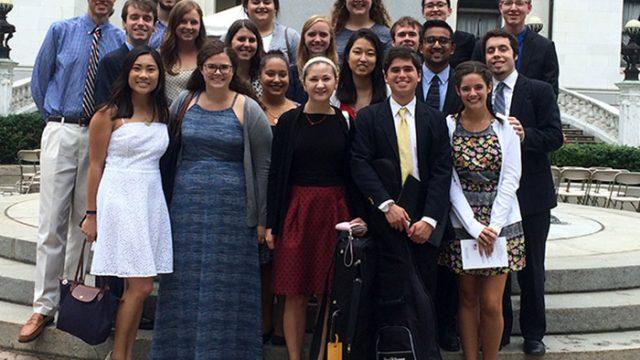 Liturgy Arts Group Members Find Spiritual Fulfillment Through Song