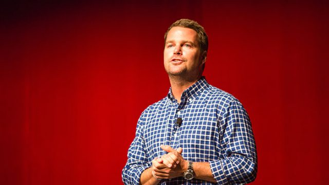 At Agape Latte, Chris O'Donnell Talks Balancing School, Acting