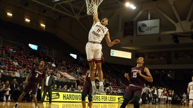 Men's Basketball Rebounds With First Win of 2016-17