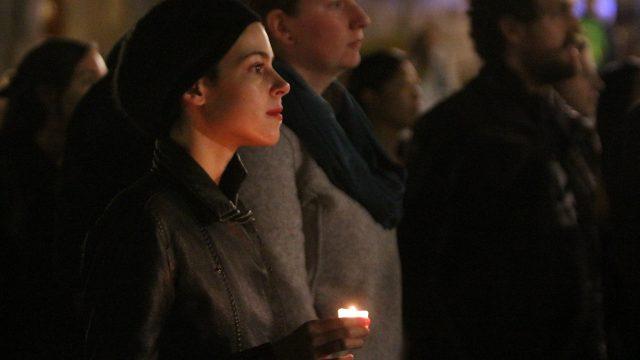 'It's About Love:' Students, Professors Rally to Condemn Trump's Rhetoric