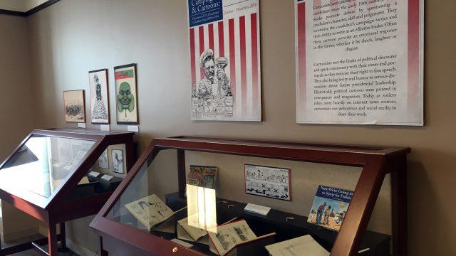 In O'Neill, Cartoons Reflect Political Progress Through American History