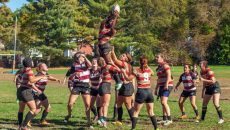 BC Women's Rugby Team