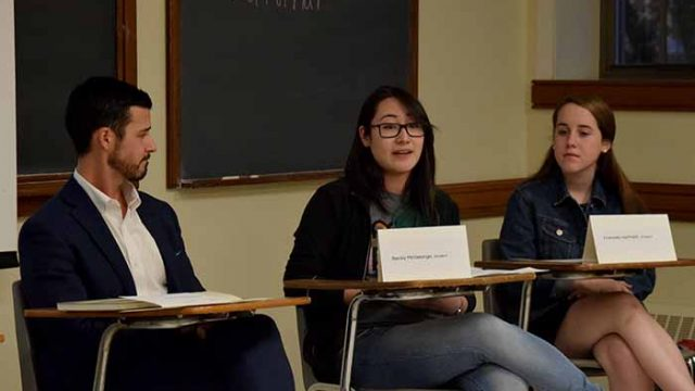 'Don't Give Up on Yourself:' Professors, Students Talk Resilience