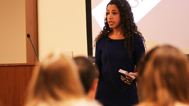At BC Talks, Students are the Experts
