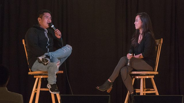 JR Aquino Awes 'From Mind to Mic' Crowd, Discusses Asian-Americans' Presence in U.S. Entertainment