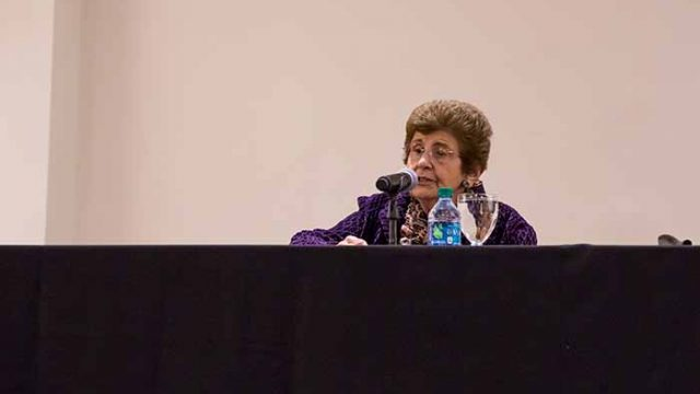 Rena Finder Tells Story of Surviving Holocaust and Oskar Schindler