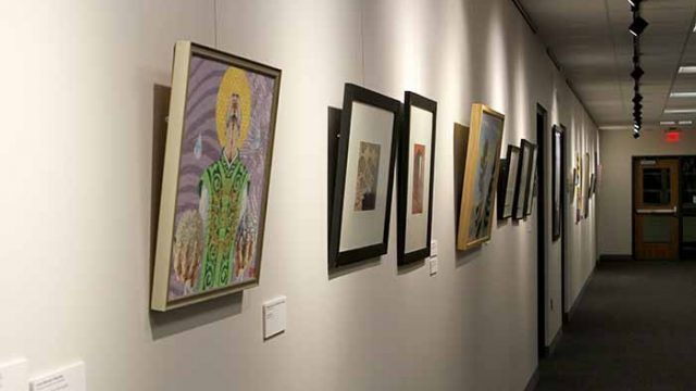 Faculty Arts Show Transcends Professional Labels with Paint, Photos, and Etching