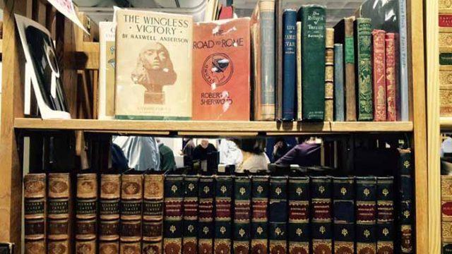 Antiquarian Book Fair Showcases Rare Literature