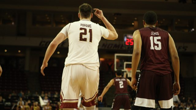 Popovic Tip-In Beats Buzzer, Lifts BC Over Auburn at MSG
