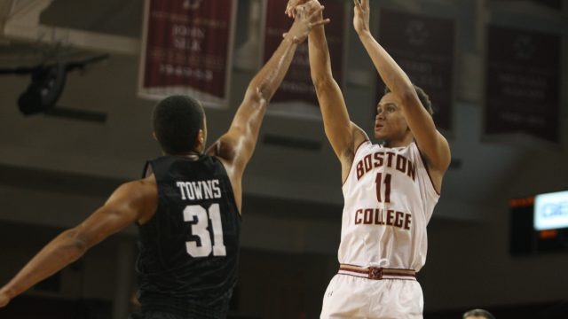 Eagles Struggle in the Paint, Excel on the Perimeter in Loss to Crimson