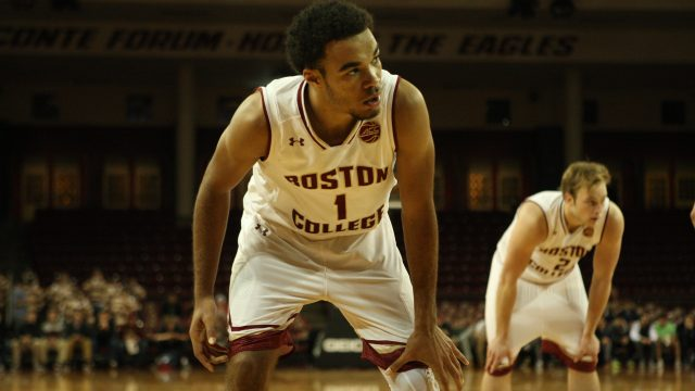 Robinson's 27-Point Day Pushes BC Past Dartmouth