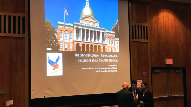 Civic Engagement Comittee Hosts Panel on Electoral College