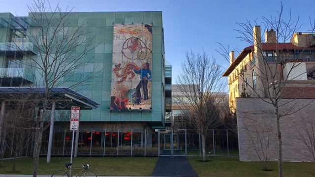 """I Need a Hero"" Mural Introduces Female Heroine to the Gardner Museum"