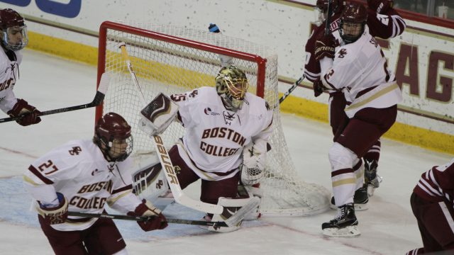 Notebook: Defensive Strength Carries BC Past UMass