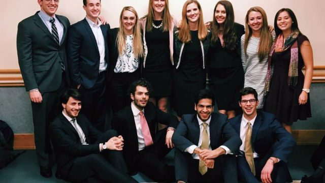 Students Compete and Learn in BC Mock Trial