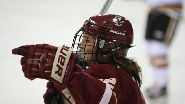 With Sweep of Vermont, Burt Becomes Program's All-Time Wins Leader
