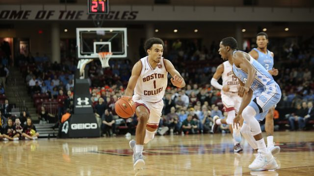 Notebook: BC's Backcourt Bounces Back, but Defense Cannot Contain UNC