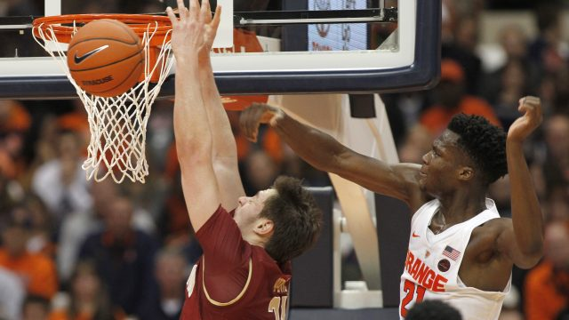 BC Cannot Replicate Shooting Frenzy in Syracuse Rematch