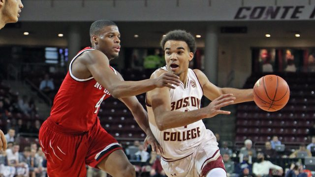 Lethal Backcourt Combo Leads Men's Basketball in Upset of NC State