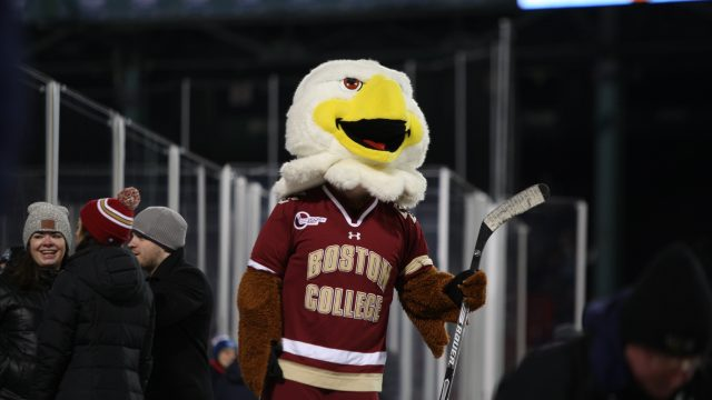 David Cotton's Late Power-Play Goal Seals Frozen Fenway For Eagles