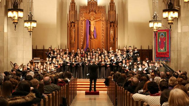 Winter Chorale Concert Hearkens A Bright, Full Future