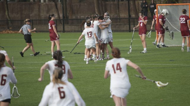 Hart's Overtime Goal Lifts Eagles Over Harvard