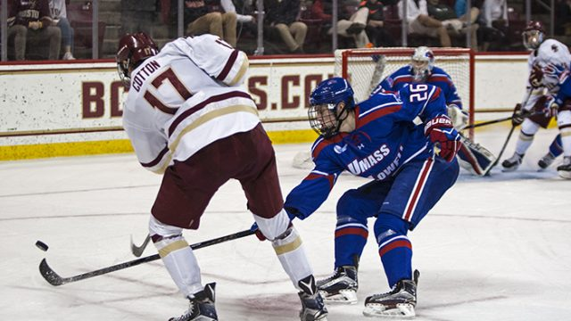 Notebook: Power Play Struggles, Defense Breaks Down in Loss to River Hawks