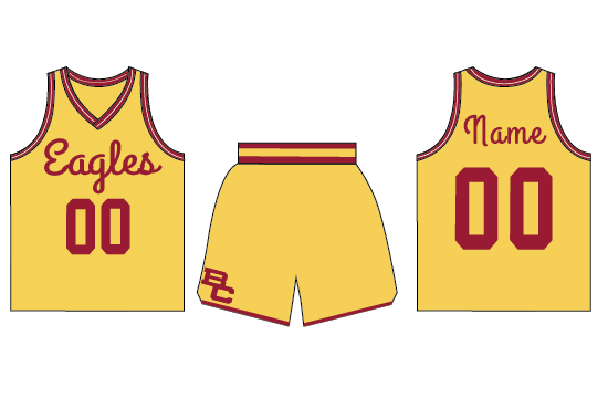 A New Era of BC Athletics Calls for a New Era of Eagles Uniforms