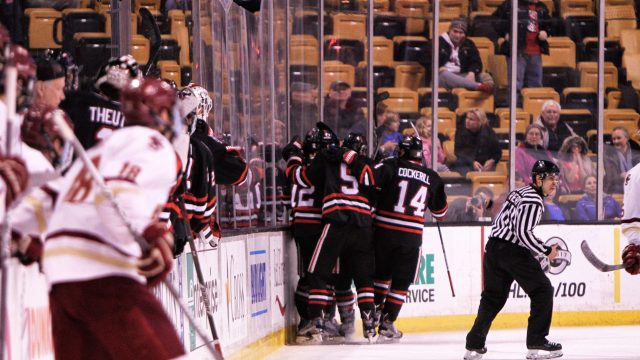 Men's Hockey Finishes Last in the Beanpot for the First Time Since 1993