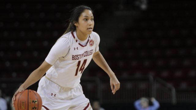 BC Edges North Carolina, Notches Second ACC Win