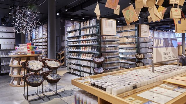 MUJI Bring Simple and Practical Essentials to Newbury Street