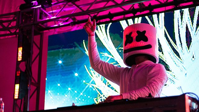 Marshmello Delivers Synth-laden Excitement at Plexapalooza