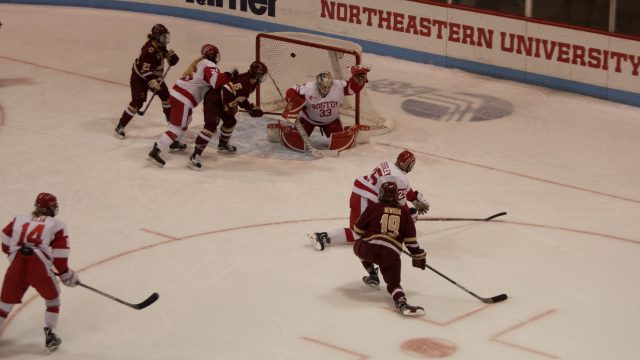 Notebook: Eagles Struggle on Penalty Kill, but Prevail in Third Period vs. BU