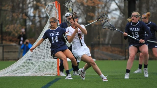 First Half Rally Helps Eagles Down Yale